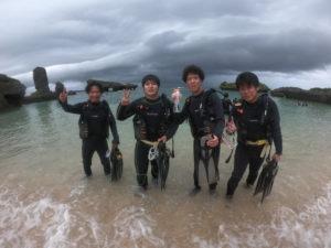 ダイブランド の体験ダイビング記録
